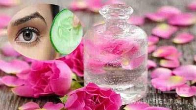 ماسک گلاب و خیار برای پوست بسیار مفید است