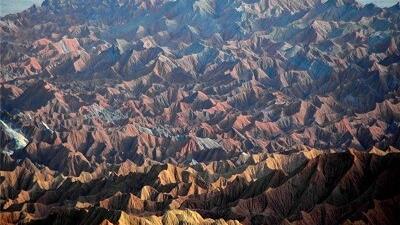 کوه های مریخی چابهار نمونه ای منحصر به فرد است
