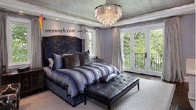دکوراسیون اتاق خواب با رنگ اسطوخودوس زیبا می شود