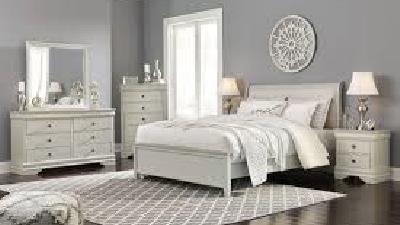 اتاق خواب را به رنگ خاکستری روشن کنید