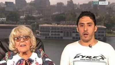 ازدواج جوان مصری با پیرزن انگلیسی