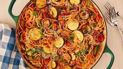 پاستا سبزیجات را چه طور درست کنیم