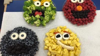چگونه به کودک خود میوه و سبزیجات بدهیم