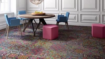 چه فرشی را برای اتاق پذیرایی انتخاب کنیم