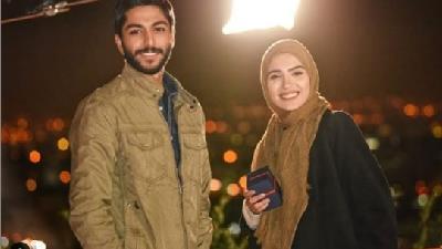 مونا کرمی و کیسان دیباج در نقش آرزو و سهراب در سریال از سرنوشت