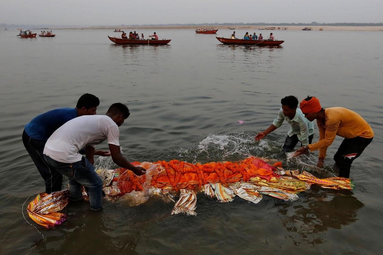 آلودگی نفس رود گنگ را گرفته است