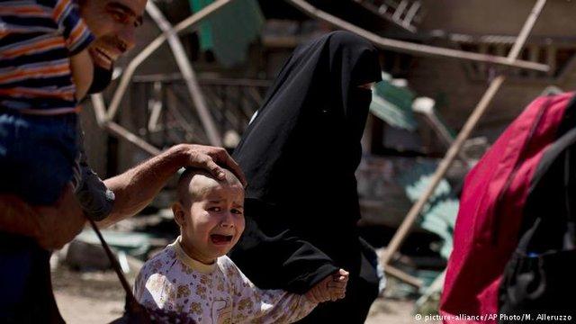 آمار تکاندهنده  از کودکان زخمی یا کشتهشده در عراق