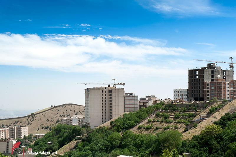 ساختوساز در منطقه درکه تهران