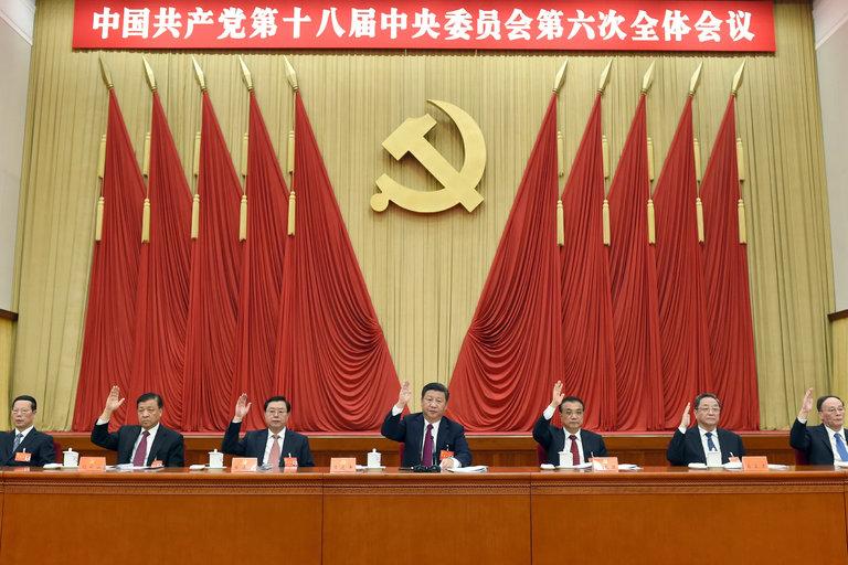 جای خالی زنان در حلقه اصلی حکومت چین