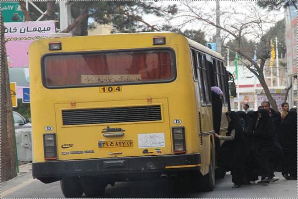 نصف اتوبوسهای تهران فرسودهاند
