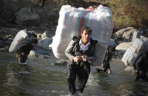 مرگ یک کولبر در ارتفاعات پیرانشهر