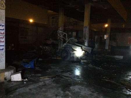 انفجار مرگبار در جایگاه سیانجی در اهواز