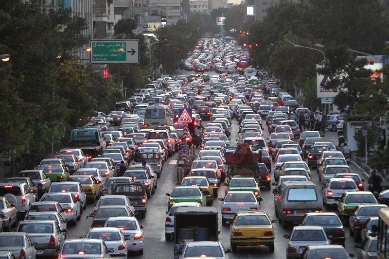 ترافیک پایتخت شرمآور است