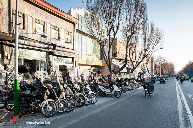تهران؛ قلمرو موتورسواران