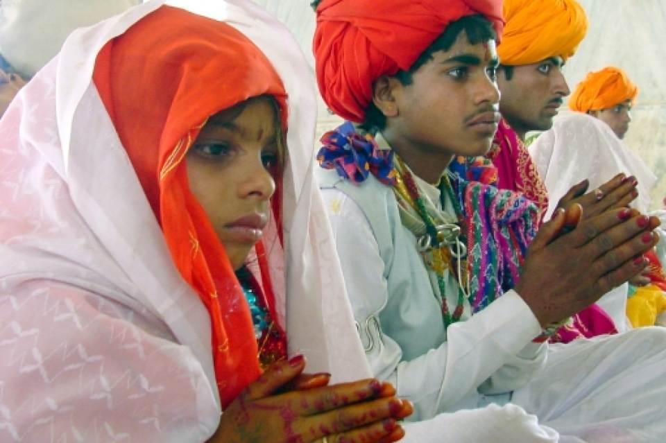 هند، کشوری با  یک سوم از ازدواجهای کودکان در جهان