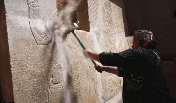 دکترین تخریب و تلاش داعش برای پاککردن تاریخ