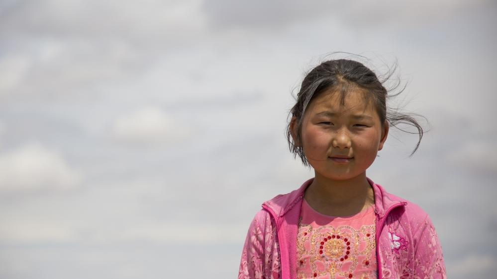 رویای بزرگ دختران کوچک در مغولستان