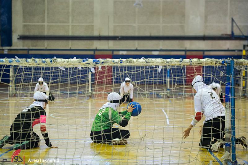 گزارش تصویری از  اردوی تیم ملی گلبال بانوان