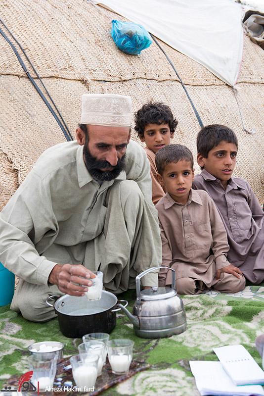 کپرنشینی در سیستان و بلوچستان به روایت تصویر