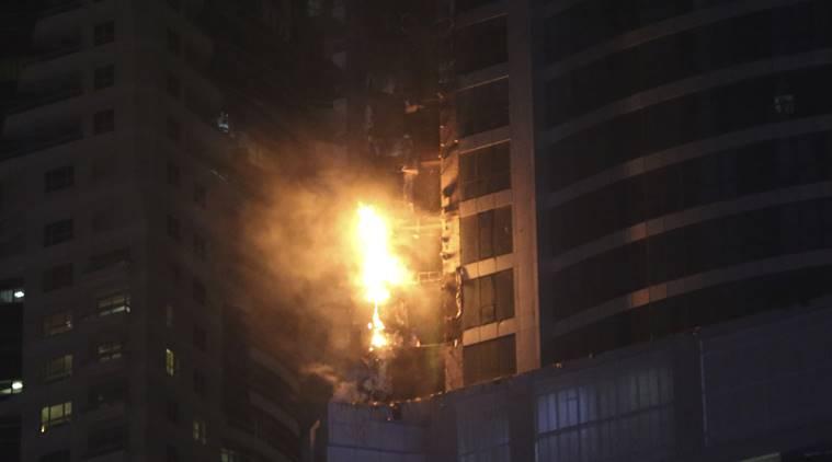 آتش در برج
