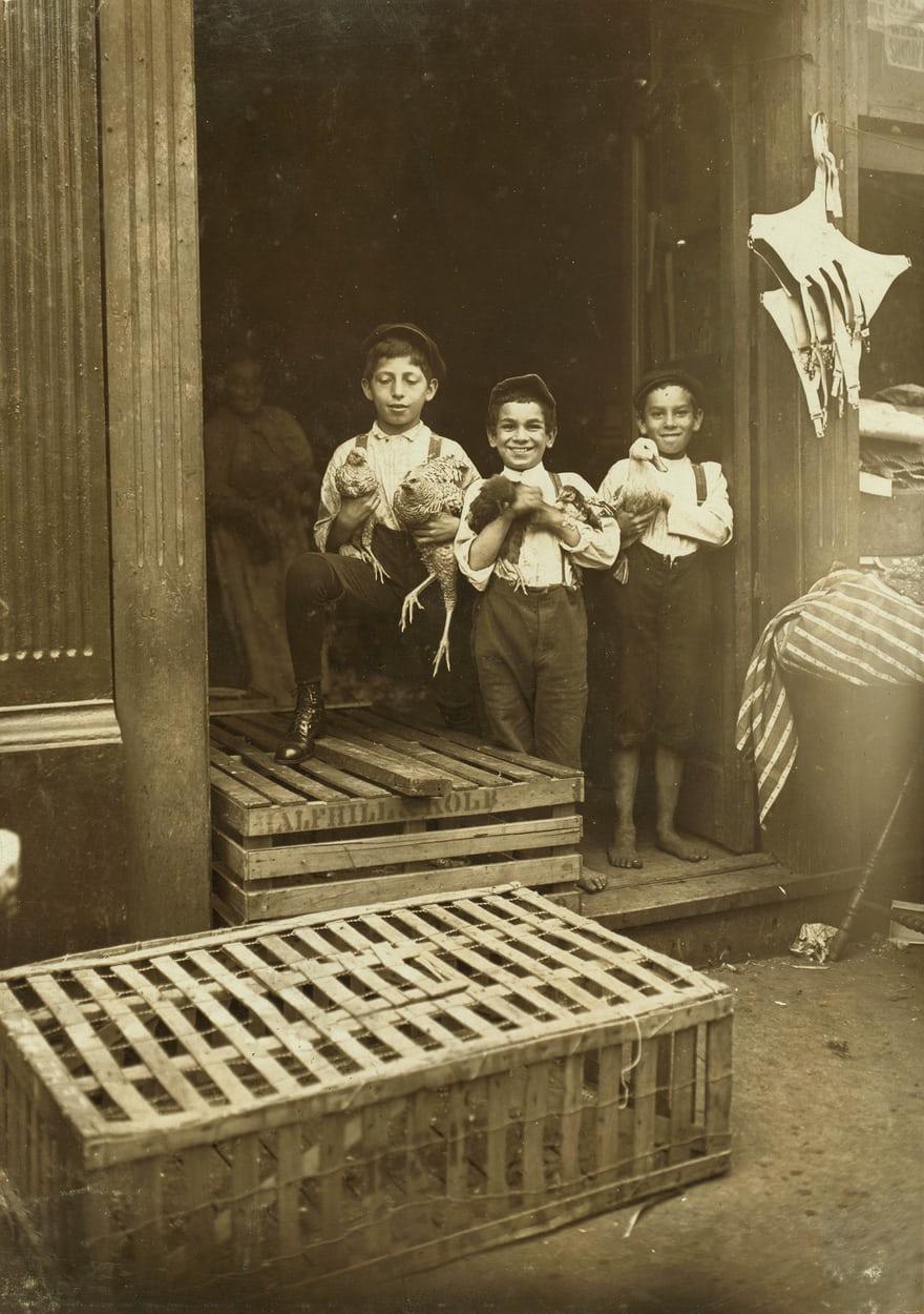 کودکان کار 100 سال قبل