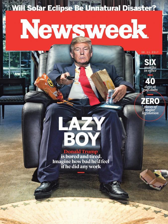 ترامپ، پسر تنبل