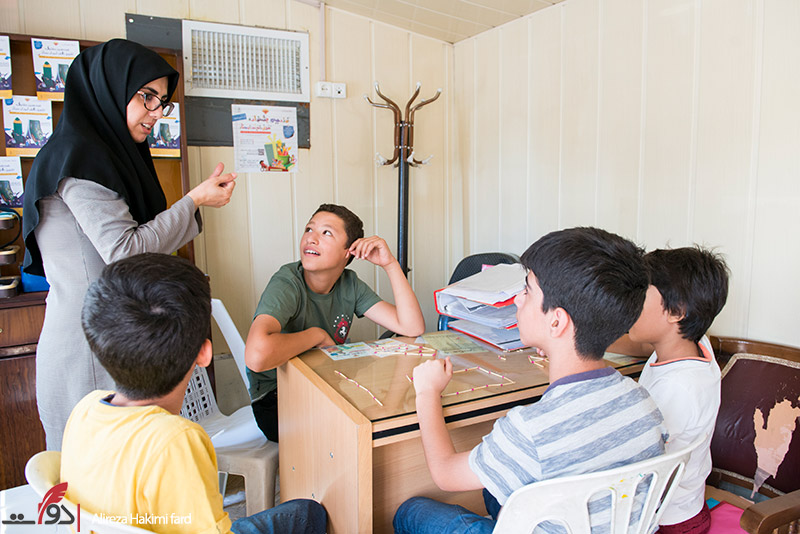 کودکان معلول از تلاش برای آموختن دست نمیکشند