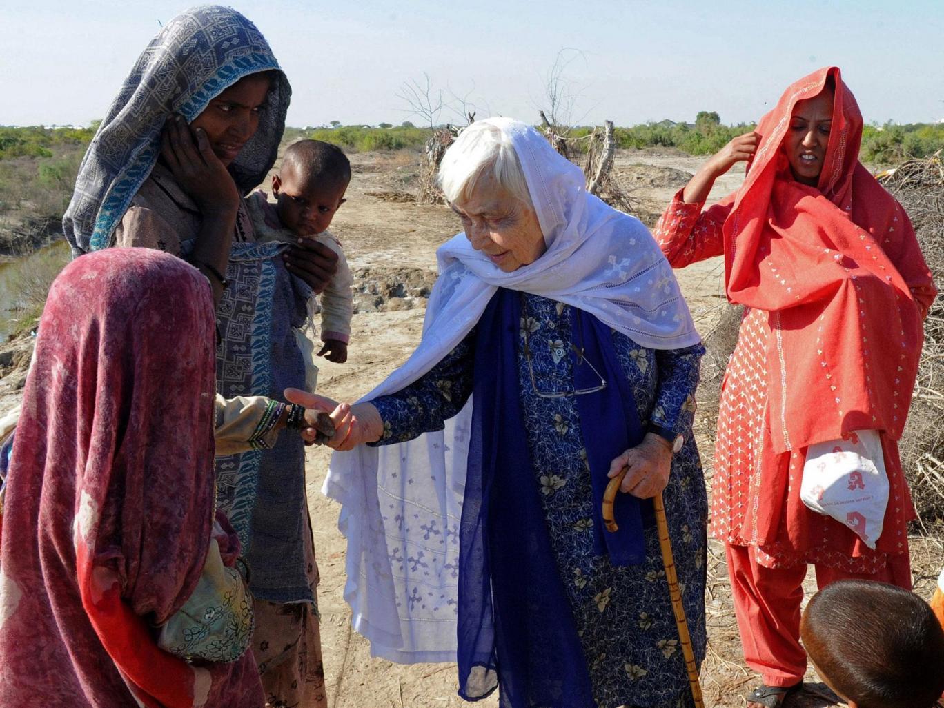 پاکستان در سوگ مادر جذامیان
