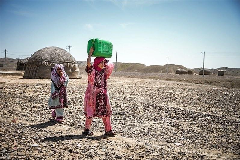 تجمع برای آب، به سیستان و بلوچستان کشید
