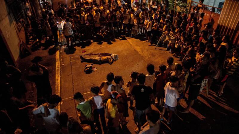 اعدام خیابانی ۵۸ نفر با هدف ریشه کردن تجارت مواد مخدر در فیلیپین