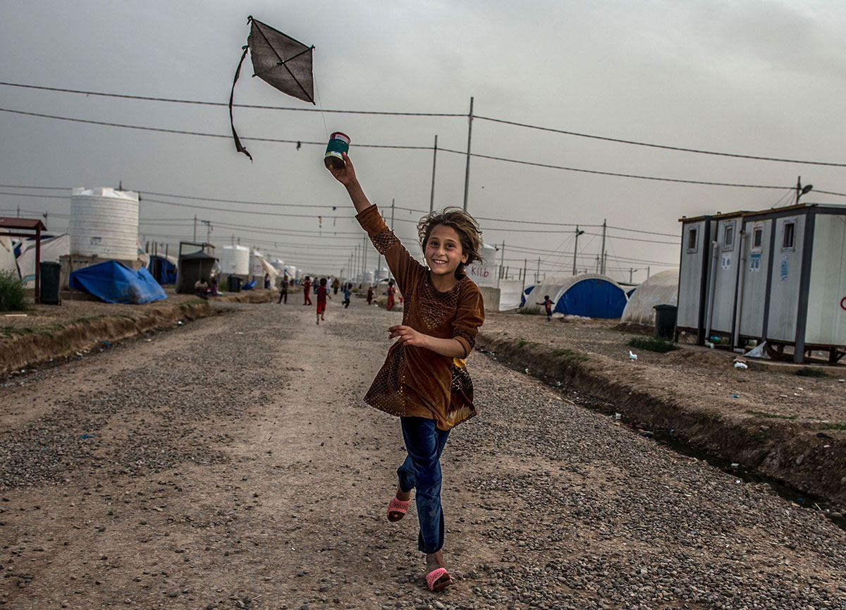 خنده آوارگان عراقی بر درد جنگ و آوارگی