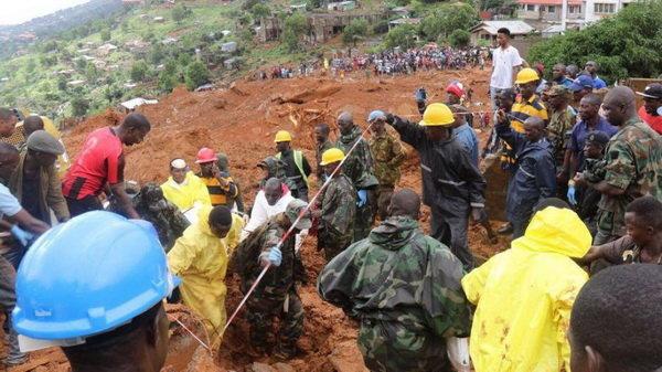 رانش زمین در کنگو ۲۰۰ کشته برجا گذاشت