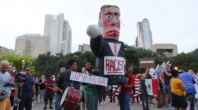 تظاهرات گسترده معترضان در آمریکا علیه نژادپرستی