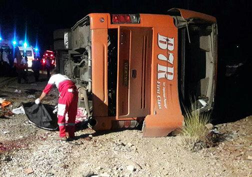 آخرین اخبار از واژگونی مرگبار اتوبوس دانشآموزان