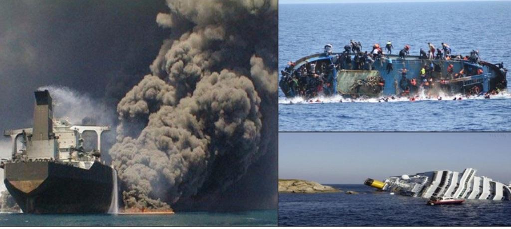 مرگ 11 هزار و 776 نفر در اثر حوادث دریایی قرن بیست و یکم