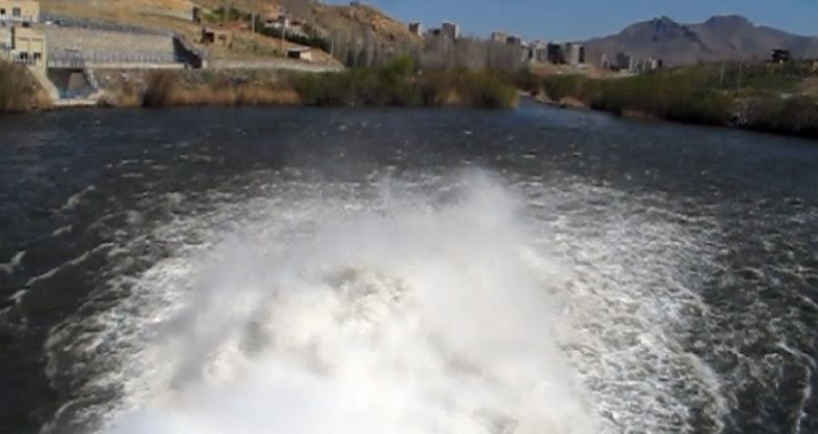 فیلمی از تلاش برای احیای دریاچه ارومیه