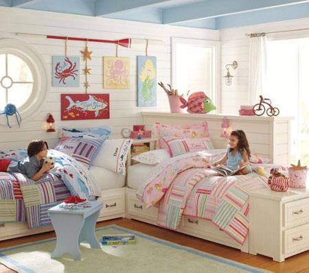 راهنمای تزئین اتاق کودکان  با وسایل ایمن و راحت