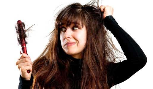 دلایل اصلی ریزش مو در زنان