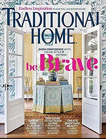Traditional Home و شجاعت در طراحی داخلی