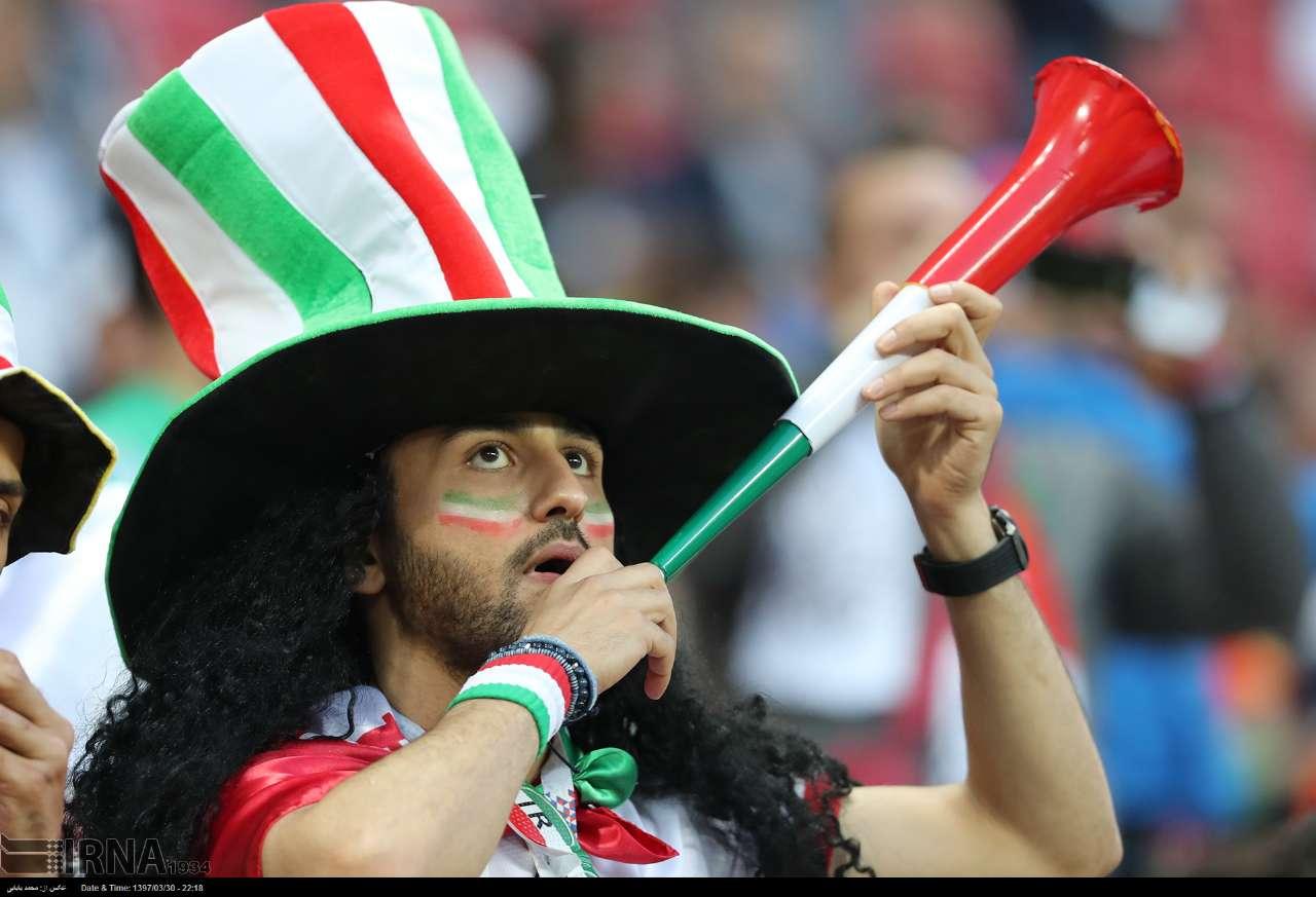 عکسهای تماشایی از بازی ایران-اسپانیا