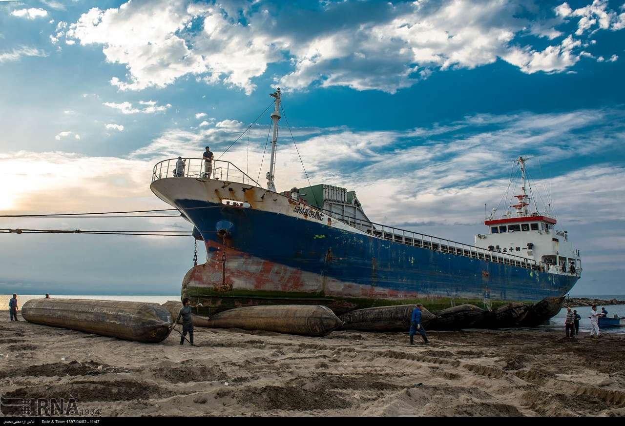 گزارش تصویری از کارخانه کشتیسازی در بندر انزلی