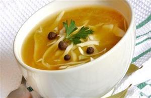 برای کاهش وزن قبل از غذا سوپ بخورید