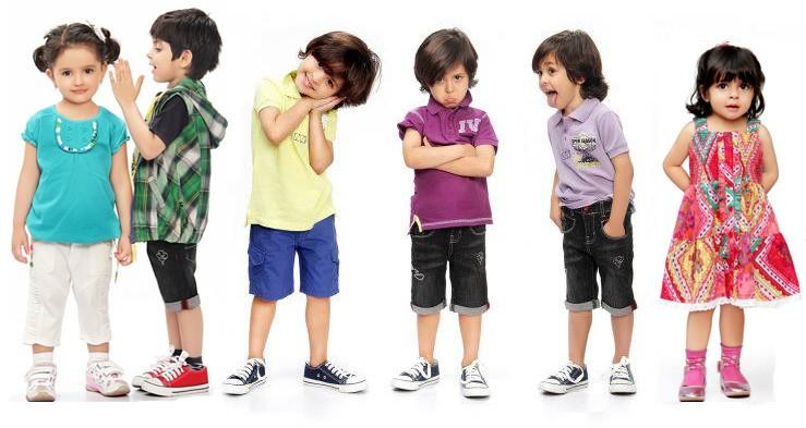 کودکان در تابستان چه لباسی بپوشند؟