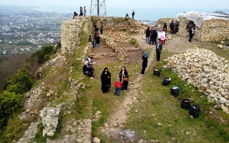 قلعه مارکوه ؛ جاذبه گردشگری رامسر