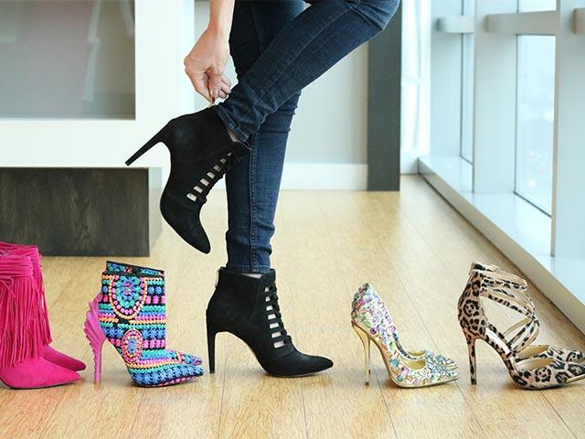 کفش های پاشنه بلند زنانه را چه زمانی بپوشیم?