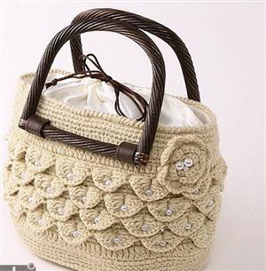 کیفهای بافتنی برای خانمهای خانه دار