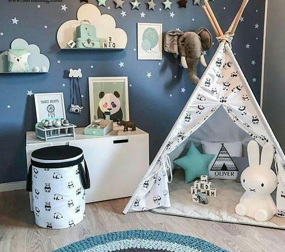 باکس کنفی؛ برای تمیزی و زیبایی اتاق کودک