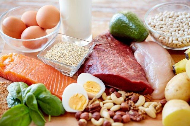 نشانههای کمبود پروتئین در بدن