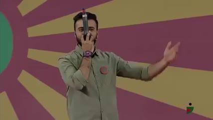 استندآپ کمدی ابوطالب حسینی در مرحله نیمه نهایی خنداننده شو2