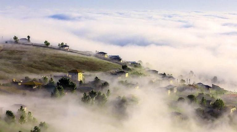 پیشنهاد سفر به روستای فیلبند،؛ سرزمین ابرها + آدرس